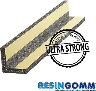 Protección de alta densidad para ángulos, 100 cm de altura, para esquinas de columnas o paredes de cocheras, parqueaderos y garajesAplicación con pegamento en 30 segundos.Reciclable, no tóxico.