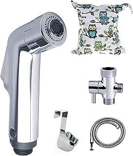 BabyMojos Two Spray Mode Cloth Diaper Sprayer Kit Plus a Bonus Wet Bag and a DIY Sprayer Splatter Shield Guide