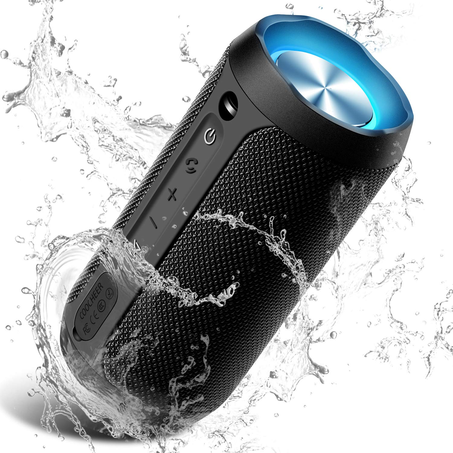 COOCHEER Wireless Bluetooth Waterproof Dustproof