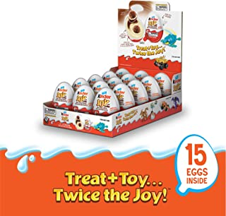 Kinder JOY Eggs, 15Count, 10.5 oz; PACKAGING MAY VARY