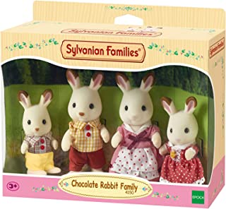Sylvanian Families Chocolate Rabbit Family,Figure
