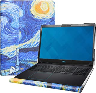 """Alapmk Protective Case Cover for 15.6"""" Dell G3 15 3590 Laptop Blue Starry Night"""