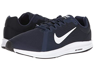 Nike Downshifter 8 (Midnight Navy/White/Dark Obsidian/Black) Men