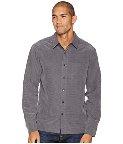 Royal Robbins Desert Pucker Dry Long Sleeve (Asphalt) Men