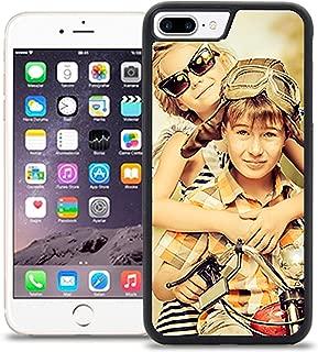 Getsingular Fundas de móvil iPhone 7 Plus Personalizadas con Fotos y Texto | Fundas Negras con los Laterales Flexibles para el iPhone 7 Plus
