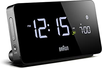Braun Clock, Black, 8 x 15 x 5 cm