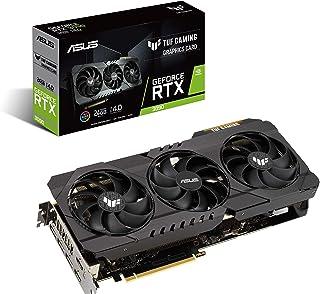 ASUS TUF Gaming NVIDIA GeForce RTX 3090 OC Edition Graphics Card (PCIe 4.0, 24GB GDDR6X, HDMI 2.1, DisplayPort 1.4a, Dual ...
