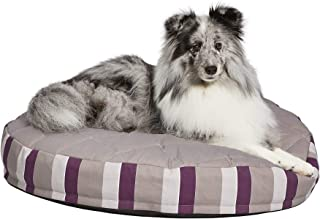 Midwest Homes for Pets 4090028-PLS Carlisle Dog Crate Mattress, Black/White Floral, X-Large