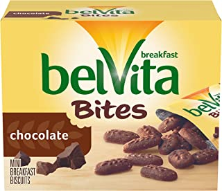 belVita Bites Breakfast Biscuits, Chocolate, 8.8 Ounce (Pack of 6)
