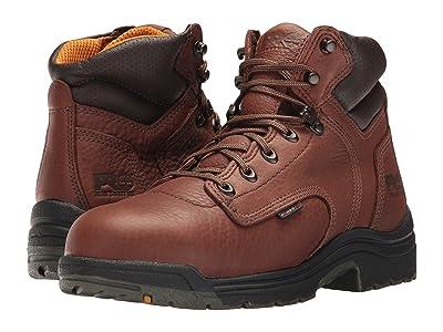 Timberland PRO TITAN(r) 6 Alloy Safety Toe (Coffee Full-Grain Leather) Men