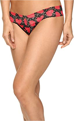 Queen of Hearts Low Rise Thong