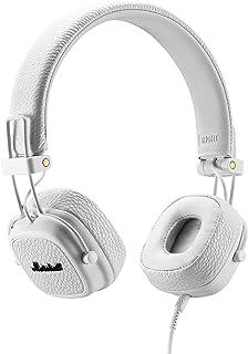 Marshall Major III Wired on- Ear Headphone, White - New