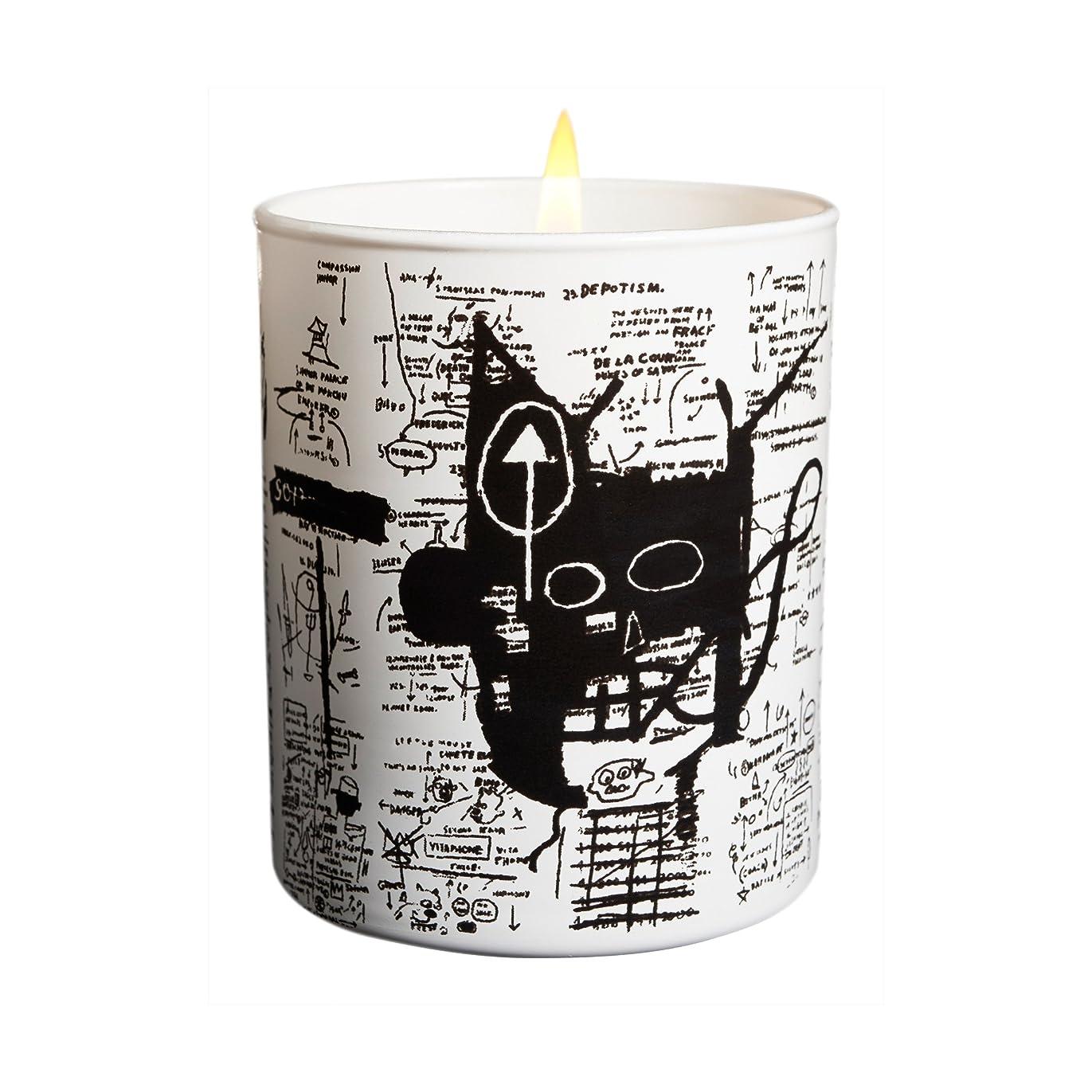 卵リンス提案ジャン ミシェル バスキア リターン オブ ザ セントラル フィギュア キャンドル(Jean-Michael Basquiat Perfumed Candle