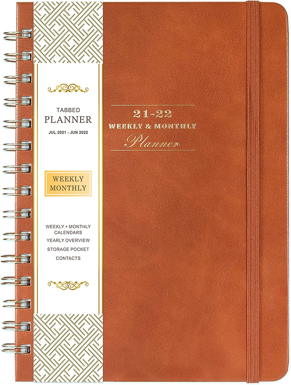 Planner 2021-2022 - Weekly Monthly Animer and price revision 5 ☆ very popular Month Academic with