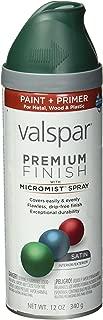 Valspar 410-85034 SP Multi-Surface Enamel Spray Paint, 12 Oz Aerosol Can, Peacock House,