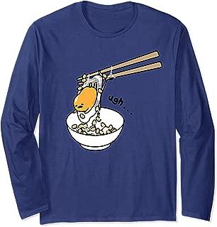 The Lazy Egg Chopsticks Long Sleeve T-Shirt