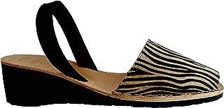 Menorca Menorquin Avarcas with Wedge/Platform of 4.8 cm. Menorcan Sandals, Avarcas Menorquinas, Fantasy, Abarcas