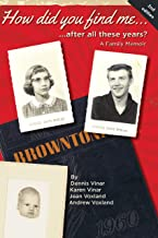 How did you find me...after all these years?:: A Family Memoir