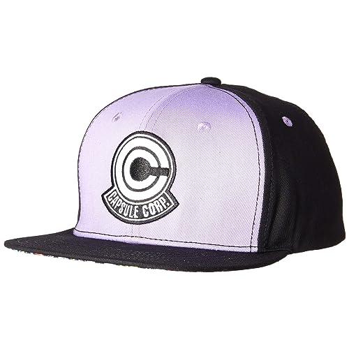 Dragonball Z Capsule Corp. Snapback Cap Cool Anime Hat 2f82e6021be