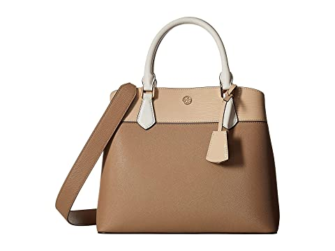 0320d874a6b4 Tory Burch Robinson Color Block Triple-Compartment Tote at Zappos.com