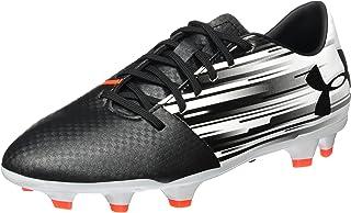 4b534533f78e Under Armour Men's Spotlight DL FG Soccer Cleat White/Phoenix Fire/Black  Size 10