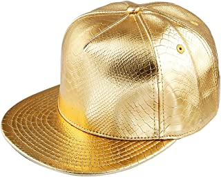 Unisex Snapback Hats,Adjustable Hip Hop Flat Brim Baseball Cap