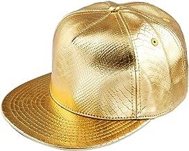 Samtree Unisex Snapback Hats,Adjustable Hip Hop Flat Brim Baseball Cap
