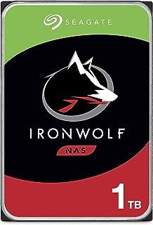 Seagate IronWolf, 1 TB, NAS, Disco duro interno, HDD, CMR 3,5