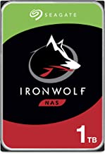 Seagate IronWolf 1TB NAS Internal Hard Drive HDD – 3.5 Inch SATA 6Gb/s 5900 RPM 64MB Cache for RAID Network Attached Storage – Frustration Free Packaging (ST1000VN002)