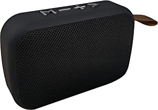 Syvo Soul 100 Bluetooth 5.0 Wireless IPX4 Super Bass, HD Sound, Aluminium Alloy Portable 3W Bluetooth Speaker with Mic (Black)