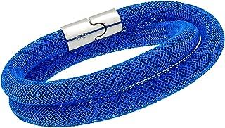 Swarovski Stardust Capri Blue Ladies Double Bracelet 5186426