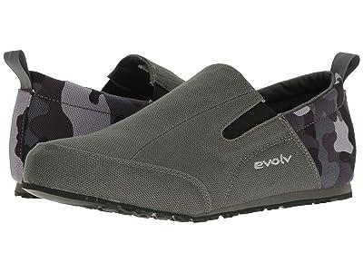 EVOLV Cruzer Slip-On (Camo Gray) Men