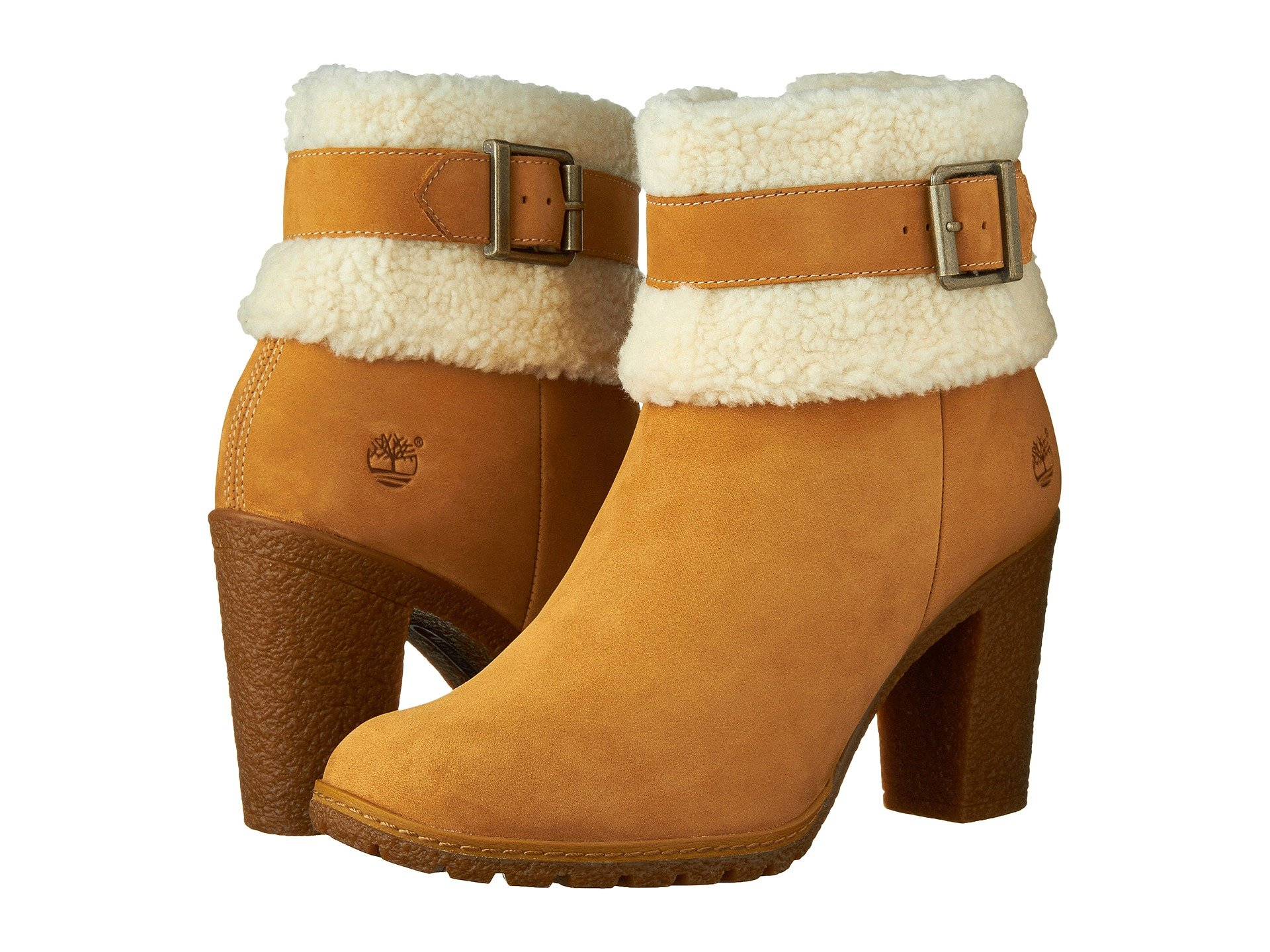 Timberland Glancy Teddy Fleece Fold Down Boot At 6pm