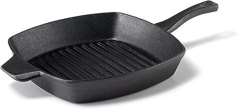 Calphalon 1873979 Pre-Seasoned Cast Iron Grill, 10