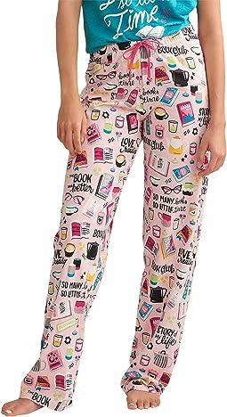 Book Club Jersey Pajama Pants