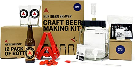 Northern Brewer – All Inclusive Gift Set 1 Gallon Homebrewing Starter Kit with..
