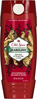 Body Wash for Men by Old Spice, Wild Collection Men's Body Wash, Bearglove, 16 Fl Oz (Pack of 6)