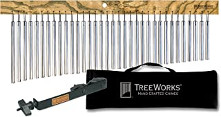 TreeWorks Chimes TRE35KIT Complete Chime Set with Holder and Bag, Made in the U.S.A.
