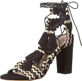 Loeffler Randall Women's Luz (Kid Suede/RIC-Rac) Heeled Sandal