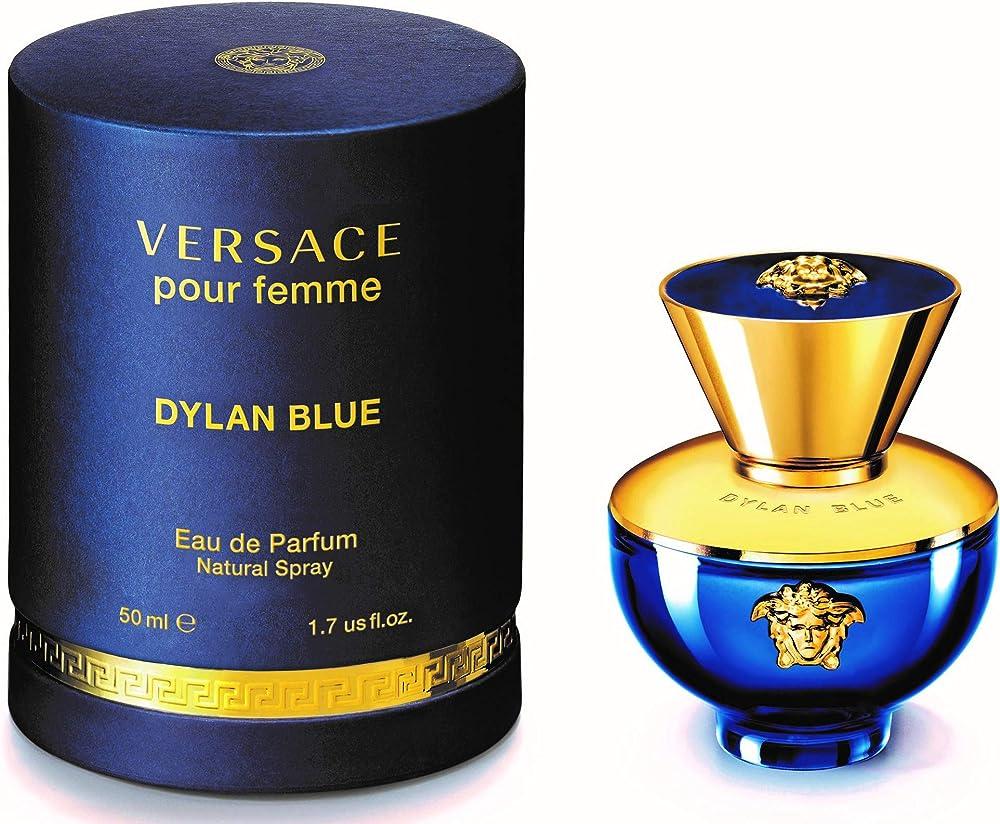 Versace pour femme dylan blue, profumo per donna, 50 ml 130690