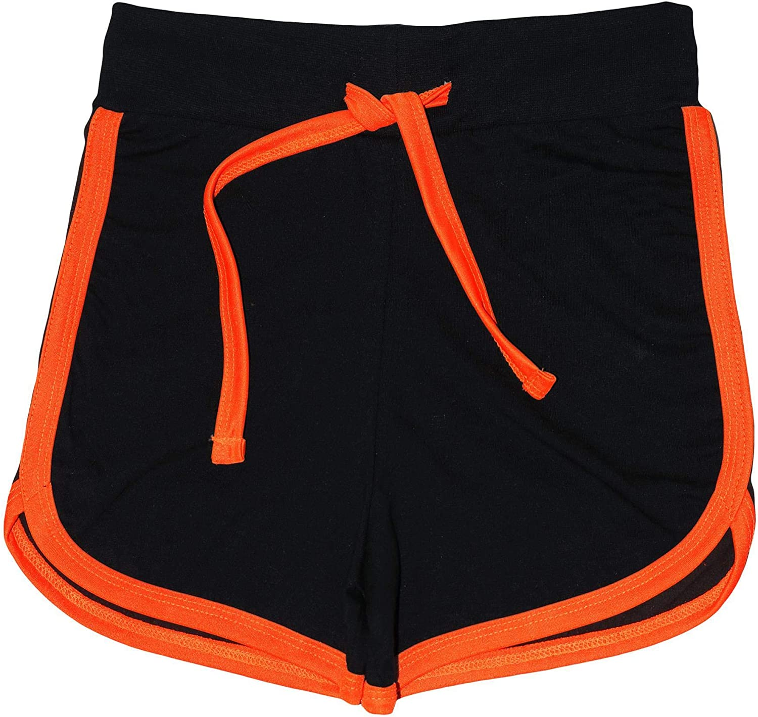 CHICTRY Kids Girls Stretch Cotton Loose Fit Gym Sports Running Shorts Summer Shorty Workout Fitness