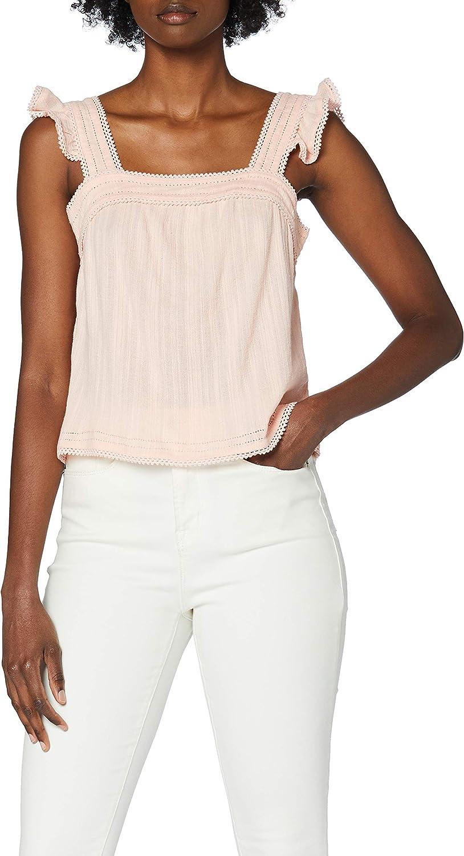Superdry Regular dealer Layne Textured Lace Pink 40% OFF Cheap Sale Women T-Shirt Ballet