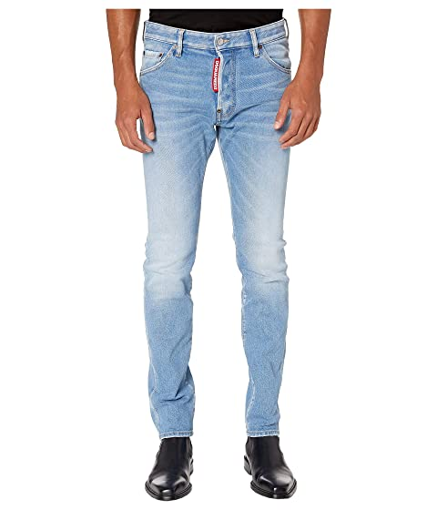 DSQUARED2 Light Weird Super Fade Wash Cool Guy Jeans