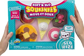 Soft n Slo Squishies 5 PACK LIMITED EDITION Sweet Shop (PANCAKE BOX)