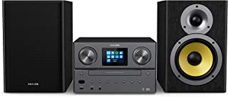 Philips Audio M8905/10 Micro Music System with Bluetooth and DAB+/FM Internet Radio (USB, Spotify Connect, CD, MP3-CD, 100...
