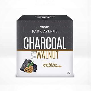 Park Avenue Charcoal & Walnut soap 125g, 125 g