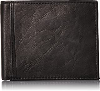 Fossil Men's RFID Blocking Ingram Bifold Wallet With Flip Id
