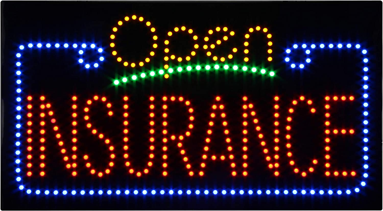 Order Here Sign for Business Super Bright Electric Advertising Display Board for Restaurant Business Shop Store Window Decor