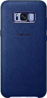 Genuine Samsung Alcantara Cover Case for Samsung Galaxy S8+ / S8 Plus (NOT S8) - Blue (EF-XG955ALEGWW)