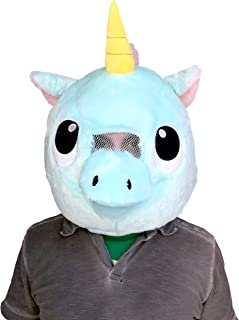 plush unicorn mask